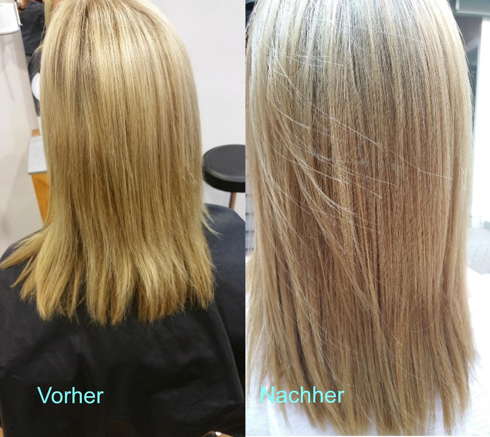 Glossing Haare
