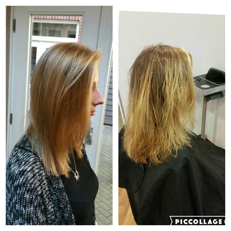 Haare Verfärbt